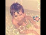 Танцем даже в ванной))) чудо мое чудное.