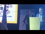 В.И. Дубинин объявляет приемника на посту президента федерации бодибилдинга России