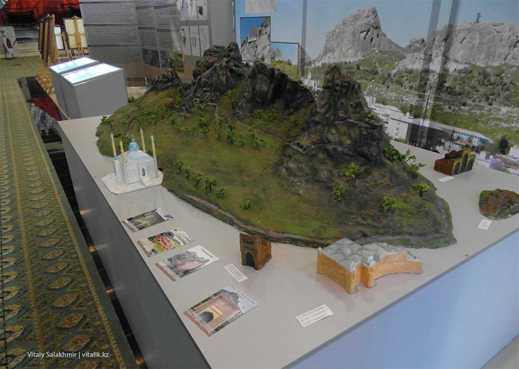 Модель горы Сулайман Тоо
