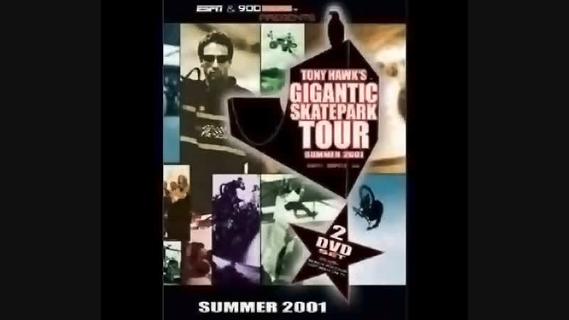 Tony Hawk's Gigantic Skatepark Tour 2001[Episode 3-4] (1080p)