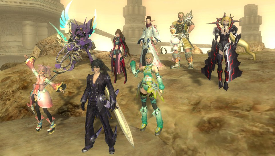 Phantasy Star Online 2 для PS Vita объявлена дата запуска