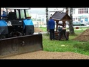 Реконструкция парка в Рудничном.