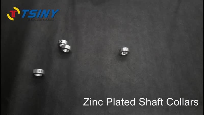 Zinc Plated Shaft Collars Solid Steel Set Screws Style Оцинкованные валковые ворота