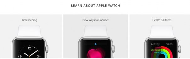 Apple раскрыла некоторые детали о возможностях Apple Watch