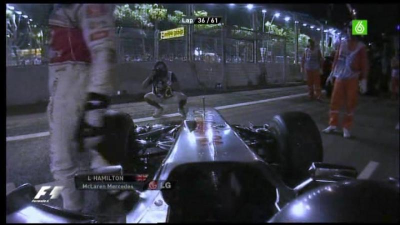 15.Carrera F1 Gp Singapur 2010