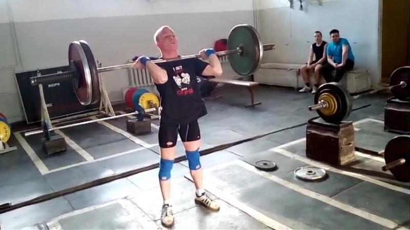 толчок кл 85 кг