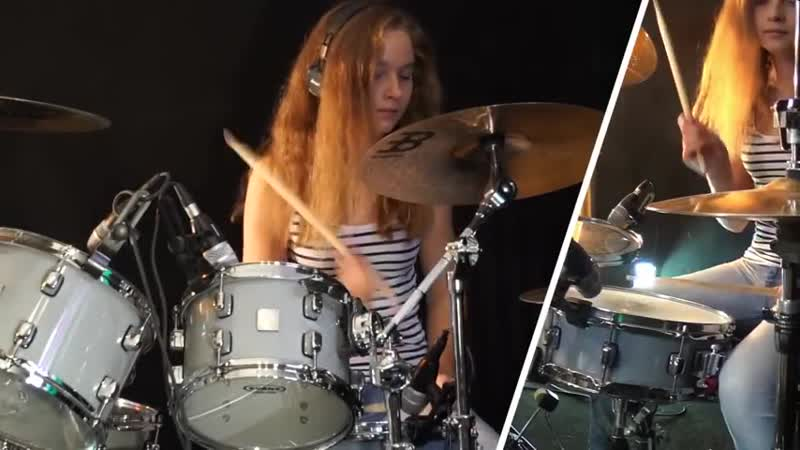 Sultans Of Swing (Dire Straits); drum cover by Sina