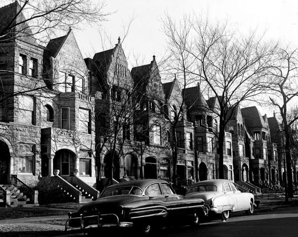 Подборка фото Чикаго 1950-х. Фотограф: Mildred Mead