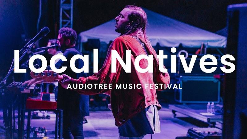 Local Natives Dark Days Audiotree Music Festival 2018