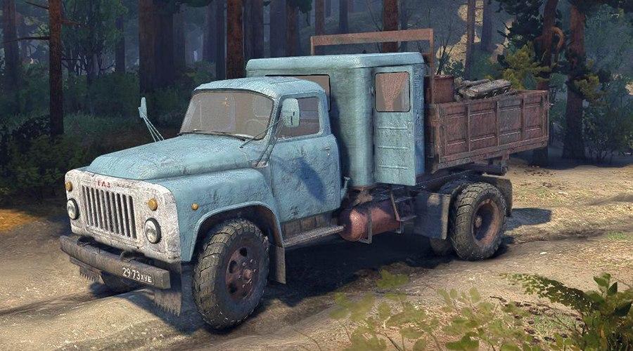 GAZ-53 для Spintires - Скриншот 1