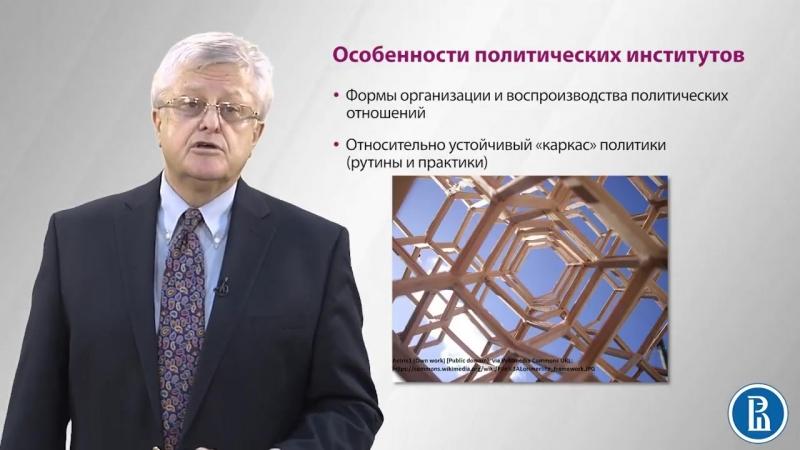 3.1 Понятие политического института - Андрей Мельвиль.