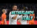 Netherlands - Italy . Football. Friendly match. Goals, highlights 28.03.2017