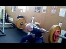 Обухов Н Л 65 лет 73 кг Закачка низа спины сидя поясницы 90кг