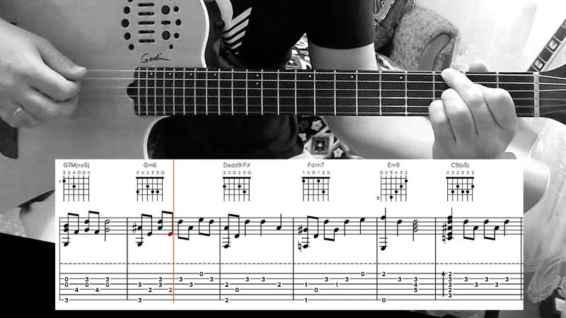 Everlasting love (easy chord melody ballad)