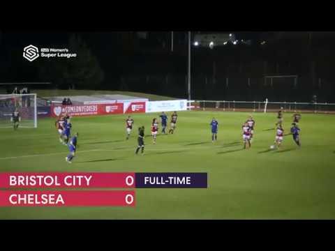 Bristol City 0 – 0 Chelsea - Match highlights - FA WSL (19th September 2018)