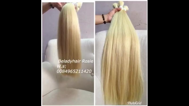 Belady hair_ Color Blonde hair _Contact me: W.s: 84965211420_Website: Beladyhair.com