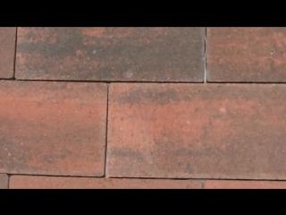 Тротуарная плитка Новый город колор-микс магма Ландшафт