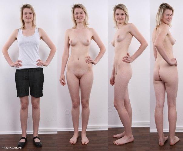 Фото голых девушек снимающих с себя одежду 85231 фотография