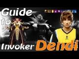 Dendi Invoker English Commentary From Dendi #dendi #dota2