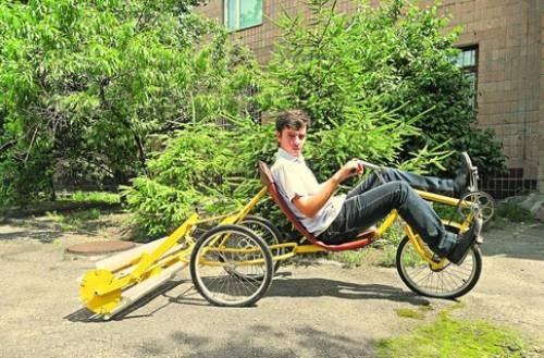 Українські школярі винайшли унікальний велосипед