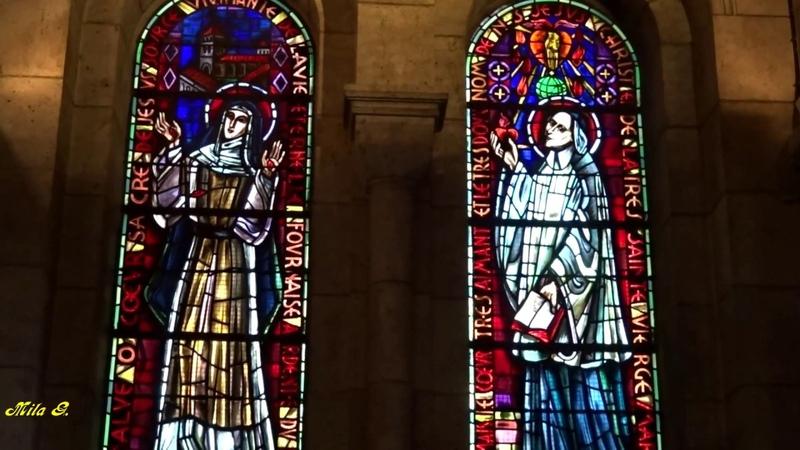 Базилика Сакре-Кёр «Сердца Христа» в Париже (Basilique du Sacré Coeur Paris)