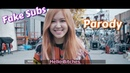 BLACKPINK - Playing With Fire Fake sub Parody BTS