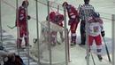 Андрей Светлаков получает травму на игре с чехами