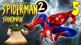 Spider-Man 2 Enter Electro (PS1) - Битва с Песочным человеком (Прохождение) #5