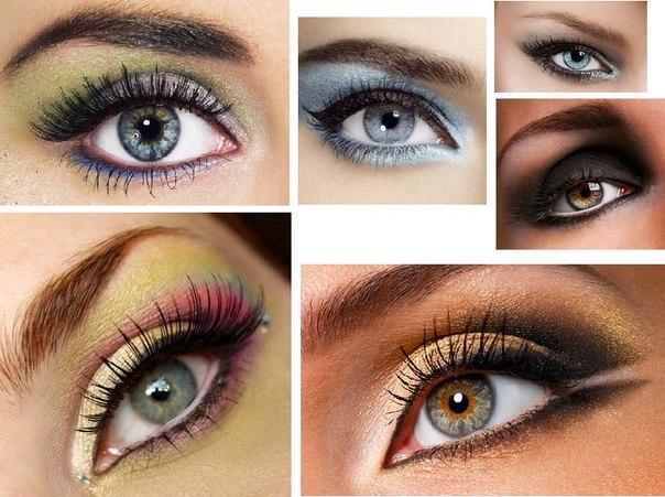 как наносить макияж на глаза пошагово