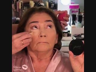 Великолепный анти-эйдж макияж