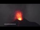 Извержение вулкана Анак-Кракатау Индонезия, 5 августа 2018.