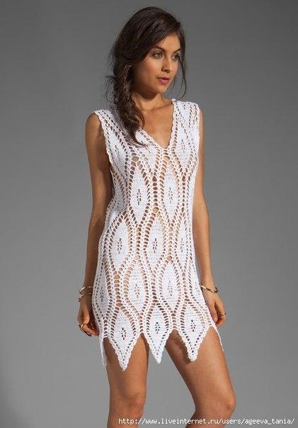 Платье на лето (3 фото) - картинка
