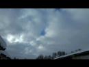 Небо над Вязниками в тылу циклона 16.03.18