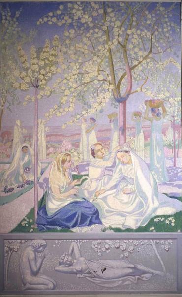 Морис Дени Французский художник-символист, иллюстратор, историк и теоретик искусства.1870-1943 гг