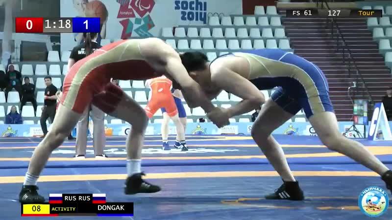 Baikal Open 2019 61кг квалификация Федор Постников Саха Майдыр Донгак Тыва 0 4