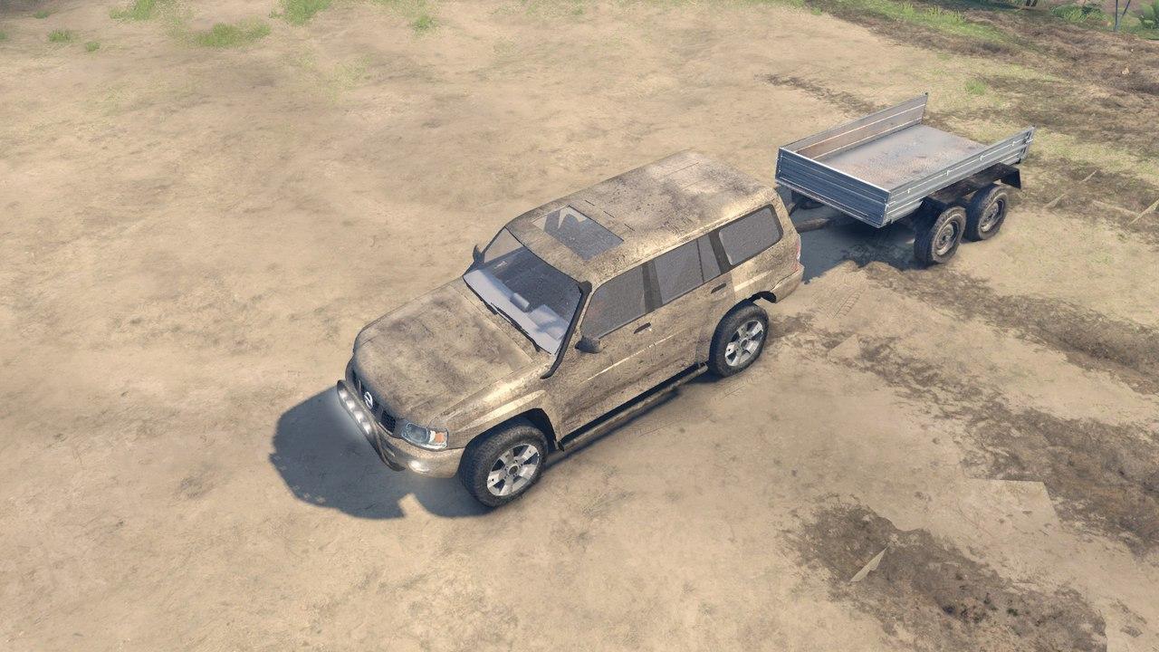 Nissan Patrol 2005 для Spintires - Скриншот 2
