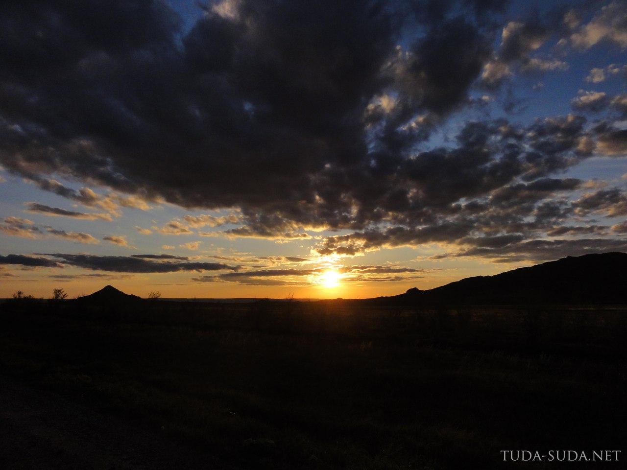 Казахстан закаты