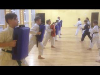 Тренировка Каратэ Торнадо Волхов 18 сентября 2018