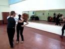 Слава (г. Гомель) и Ксюша (г. Гродно) танцуют ЗУК на тренировке 07.04.2013