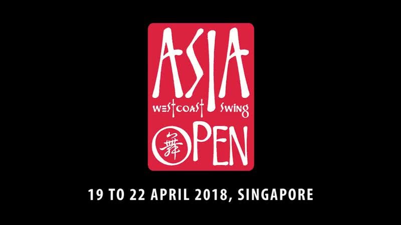 Brad Whelan Alyssa Glanville - Asia West Coast Swing Open 2018
