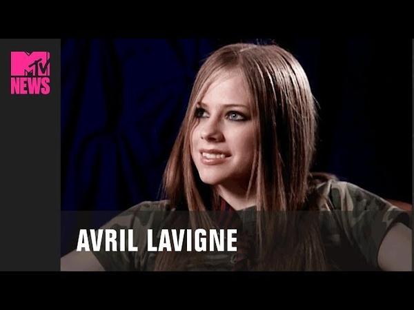 Avril Lavigne Before Sk8er Boi In First MTV Interview 2001 TBMTV