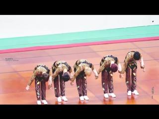 180115 Аэробика (общий фокус) @ Idol Star Athletics Championships 2018
