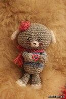 Вязаные игрушки.  Вязание крючком.  Игрушка Слоник.  Часть 1. Crochet Toy Elephant Part 1. Пасхальный цыпленок.