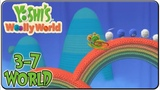 Yoshi wooly world 3-7 Fanciful Fluff and Feathers