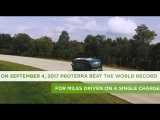 Proterra Catalyst E2 Max Sets World Record and Drives 1,101.2 Miles on a Single Charge