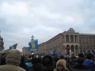 Майдан 1.12.2013 Ірена Карпа