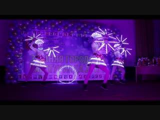 Новогоднее шоу, световое шоу, танцующие официанты, огненное, бумажное. Москва и МО.