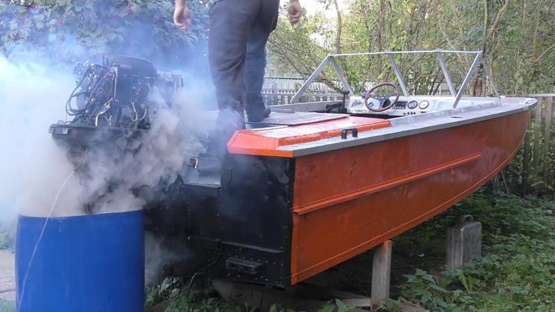 Тюнинговое зажигание CDI от скутера на лодочный мотор TOHATSU 90 Катер Амур 2 серия