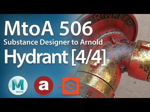MtoA 506 | Substance Designer Part 1 Blending Shaders [4/4]