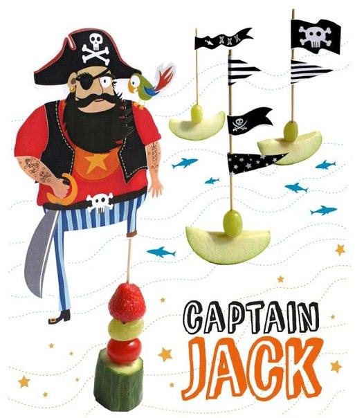 Для пиратской вечеринки своими руками